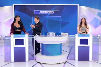 MC Pocahontas, Silvio e Dani (Crédito: Lourival Ribeiro/SBT)