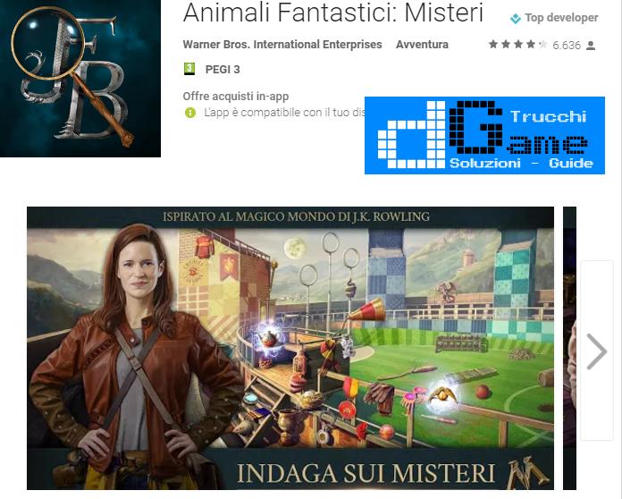 Trucchi Animali Fantastici: Misteri Mod Apk Android v2.0.6820