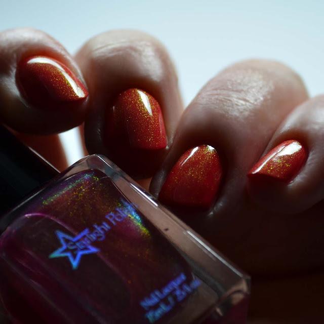 pink unicorn pee nail polish