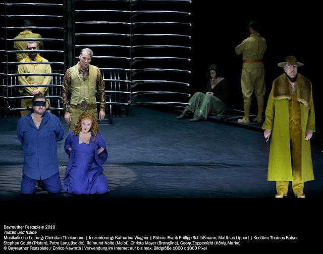 Richard Wagner: Tristan und Isolde - Bayreuth Festival 2019 (Photo Enric Nawrath)