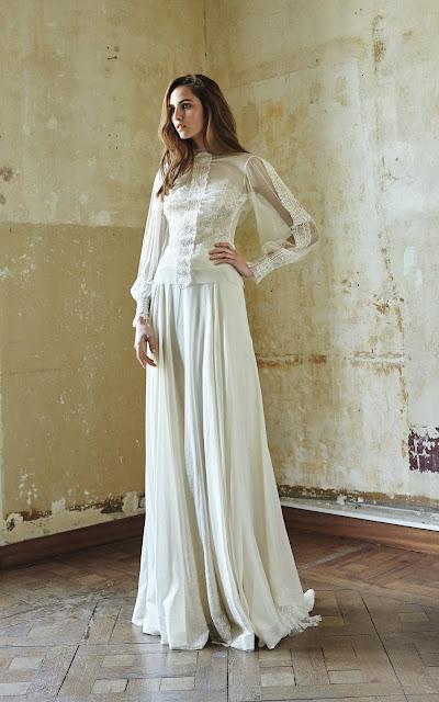 Vestido de novia de la colección IR de Bundó 2017