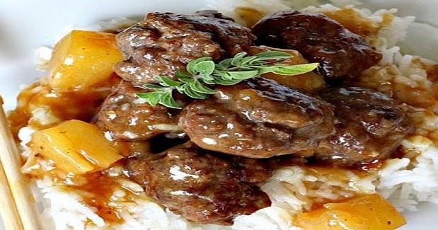 Sweet And Sour Meatballs II Recipe — Dishmaps