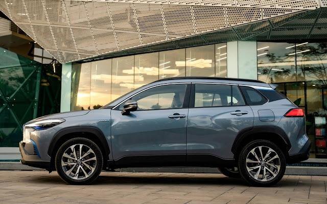Toyota Corolla Cross terá motores 2.0 e 1.8 Hybrid - Brasil