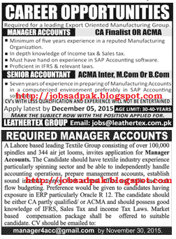 Daily advertisement jobs news papers    Jobs in Daily Jang