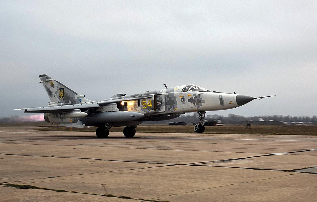Шостий Су-24 за шість років передано Повітряним Силам