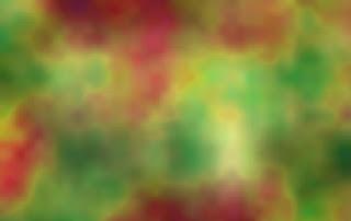 色相、彩度、明度をパーリンノイズで変化させた例
