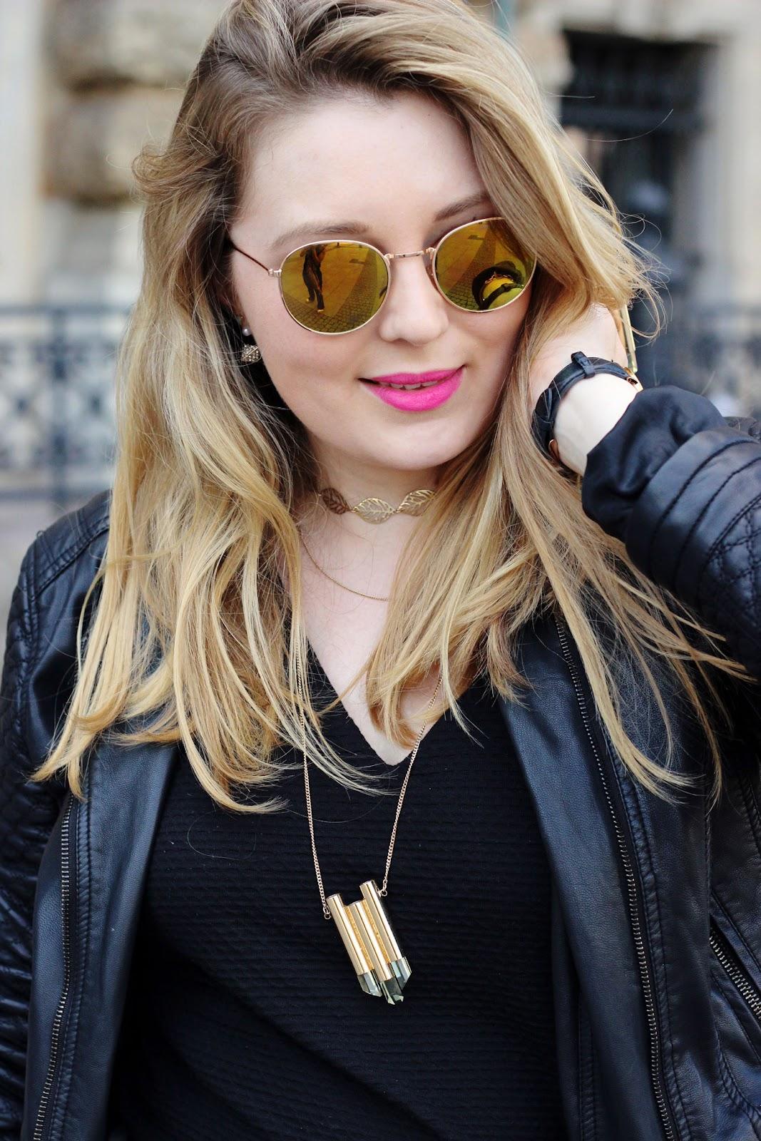 Blogger, Hamburg, Sonnenbrille, total black