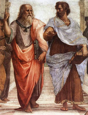Plato and Aristotle at the Academy