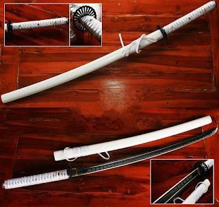 Pedang Katana The Last Samurai Putih