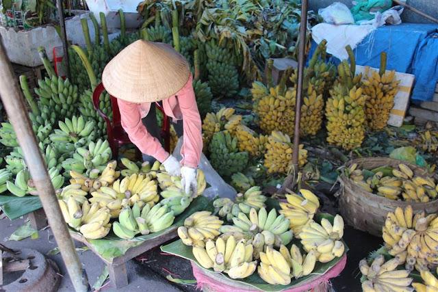 Dong Ba Markt Hue Vietnam