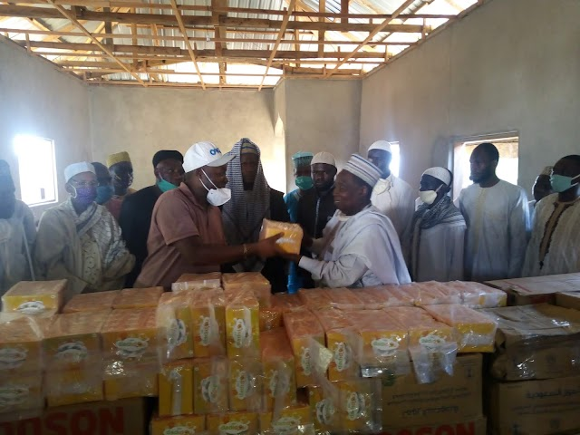 Ramadan: Mbayu Felix Provides for Muslim Community at Old Town