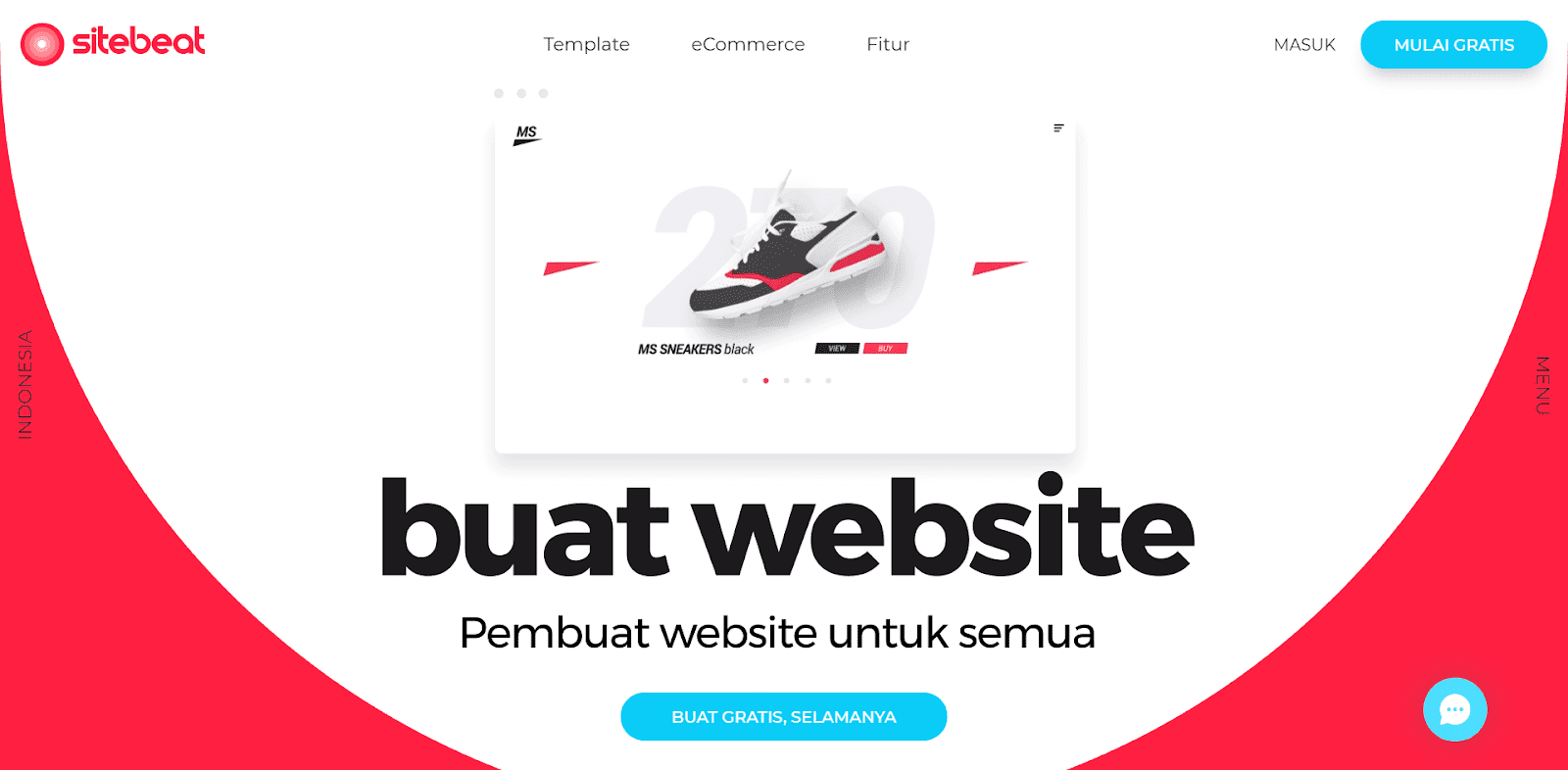 Cara Mudah Membuat Website Profesional di Sitebeat