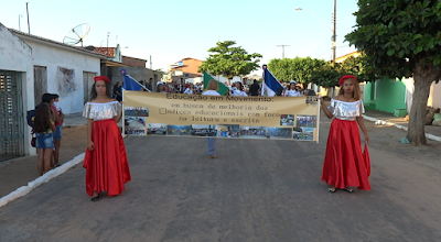 Olho D'Água do Casado, 57 anos de Emancipação Política, confira imagens e vídeos do desfile cívico