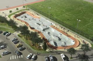 nouveau skatepark uzès