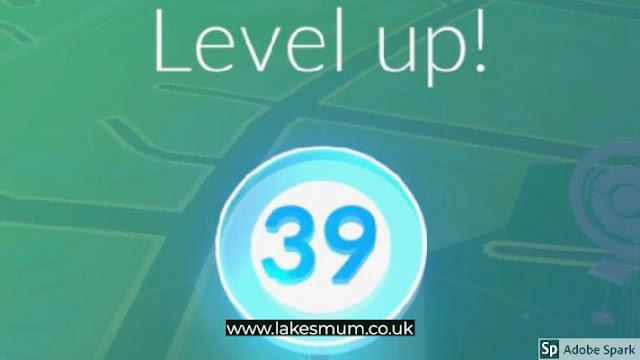 pokemon go level 39