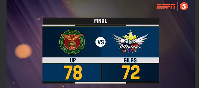 UP def. Gilas Pilipinas Cadets, 78-72 (REPLAY VIDEO) 2018 FilOil Flying V Preseason Cup | May 8