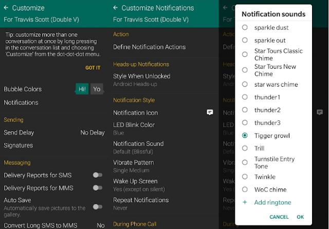 Cara Setup/Mengatur Nada Dering Khusus untuk Kontak di Android.Anda  10
