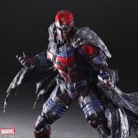 Magneto s'invite chez Square Enix...; magneto; wolverine; marvel; play arts kai; bdocube; bedeocube; square enix;