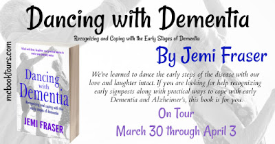 flyer for the book Dancing With Dementia