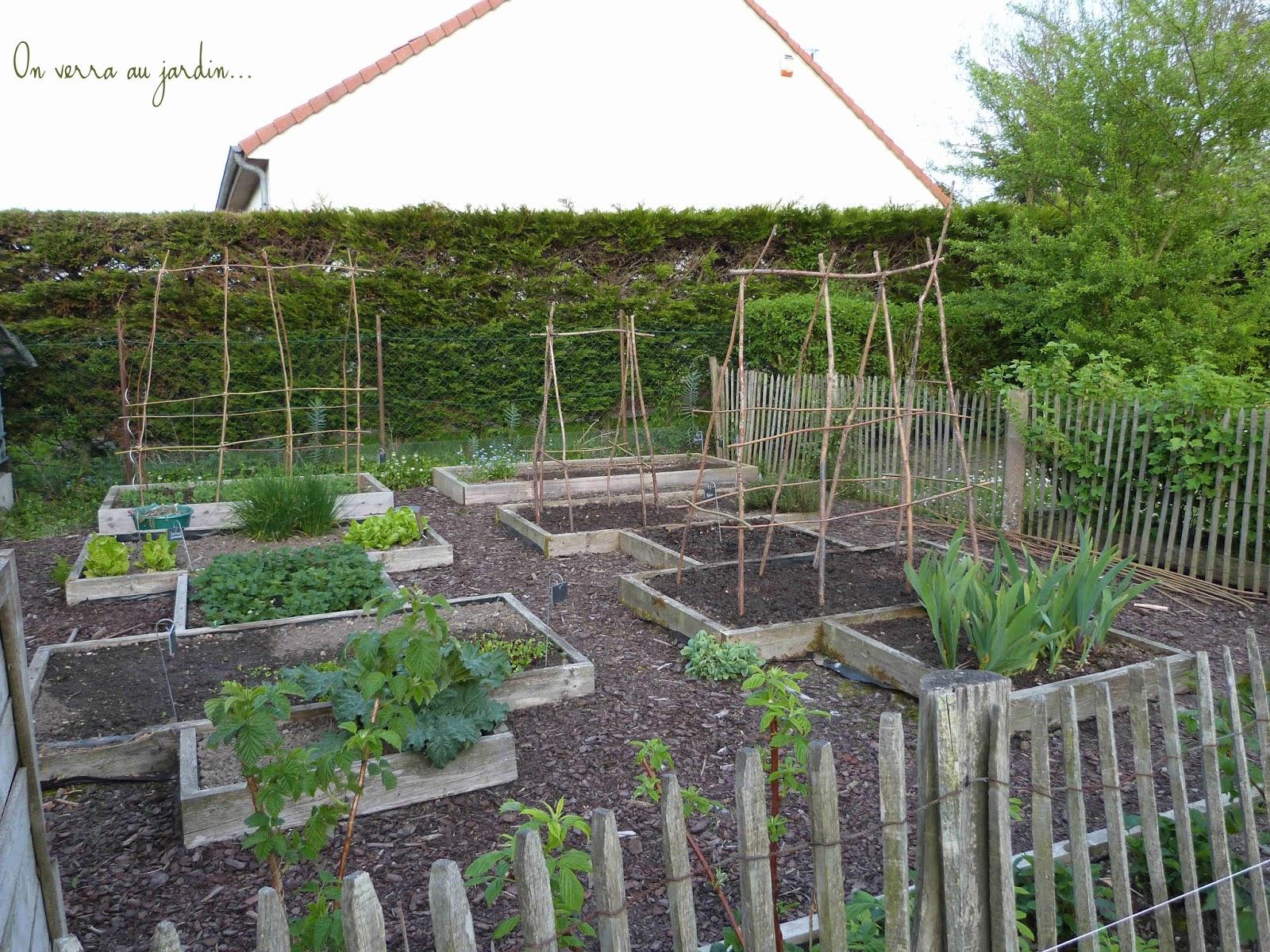 On verra au jardin potager en mai - Quand semer les petit pois ...