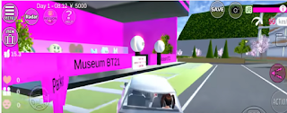ID Museum BT21 Di Sakura School Simulator