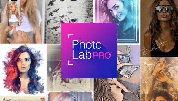 Photo Lab PRO Picture Editor editor de fotos fácil, rápido y divertido