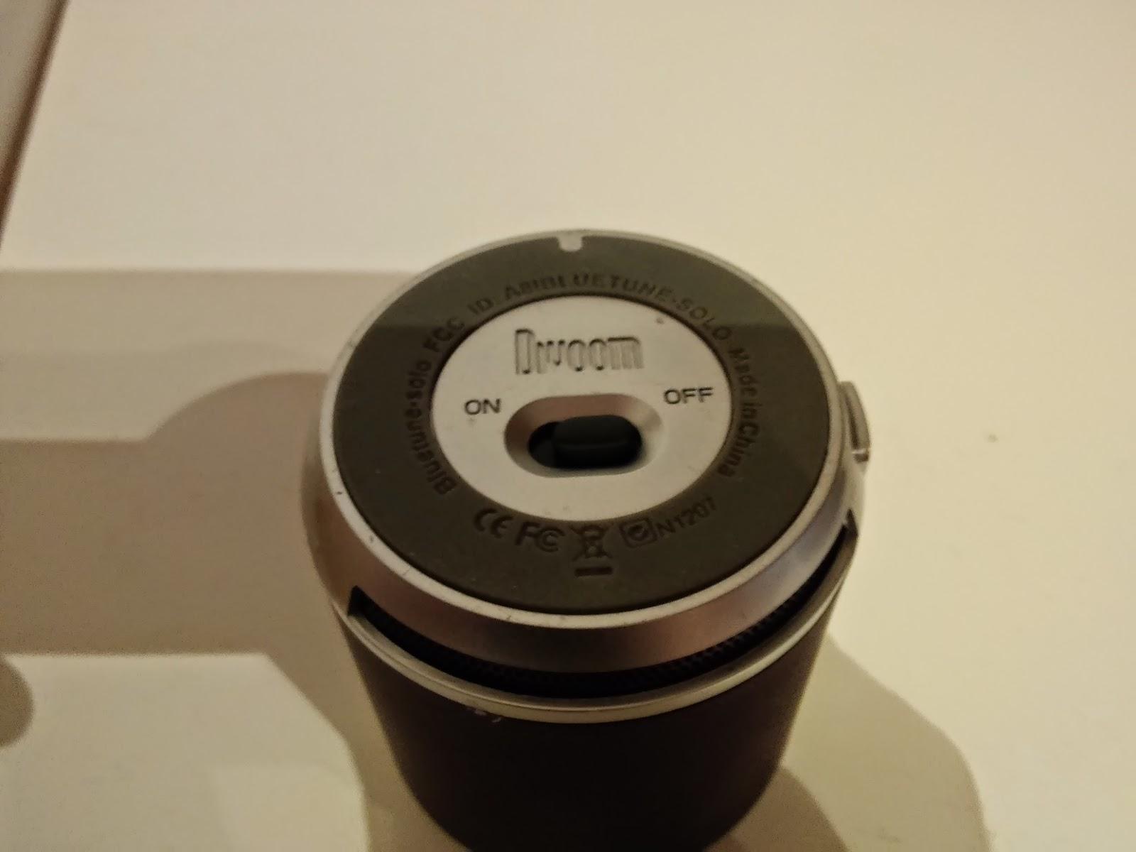 Divoom Bluetune-Solo v3 speaker controls