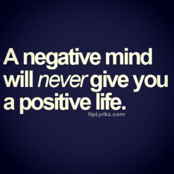 Wordless Wednesday 90  : Negative Mind