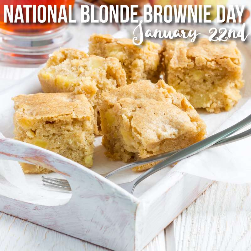 National Blonde Brownie Day Wishes pics free download