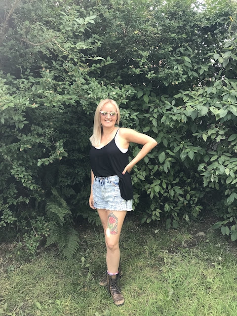 Bingley Music Live Festival 2018 - what we wore, my outfit shot