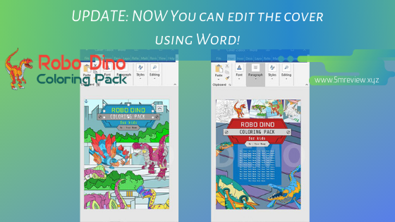 Robo Dino Coloring Pack PLR Review