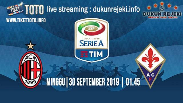 Prediksi Skor Pertandingan AC Milan Vs Fiorentina 30 September 2019