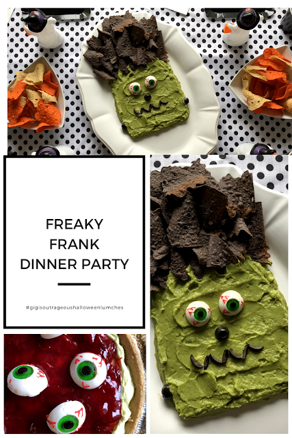 Friendly Frankenstein Halloween Dinner Party for Kids