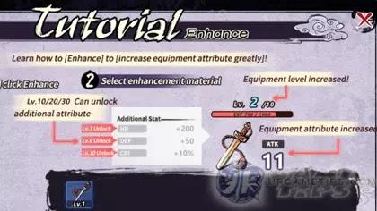 Yokai: Spirits Hunt - How to Enhance Gears and Farm Enhance Materials