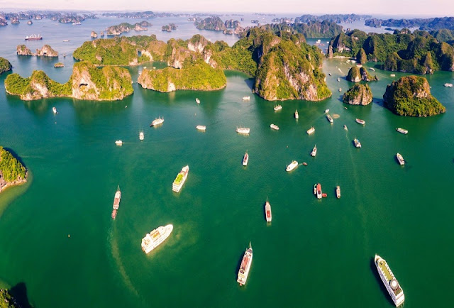 Ha Long Bay, Cat Ba - Nature Masterpiece Seen From The Sky 8