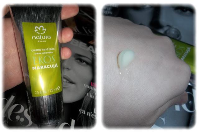 Crème pour les Mains Ekos Maracuja - Natura Brasil - Joliebox Janvier 2012