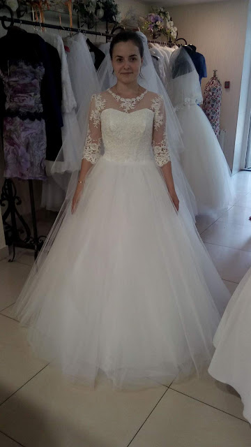 Невеста в подвенечном платье