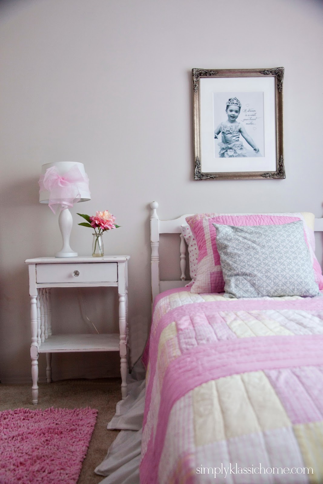 Girls Room: Little Girl's Princess Room Makeover Reveal
