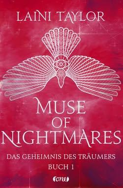 Bücherblog. Rezension. Buchcover. Muse of Nightmares - Das Geheimnis des Träumers (Band 3) von Laini Taylor. Fantasy. Jugendbuch. one.