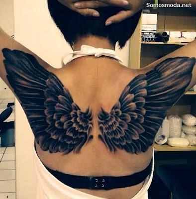 Tatuajes en la Espalda