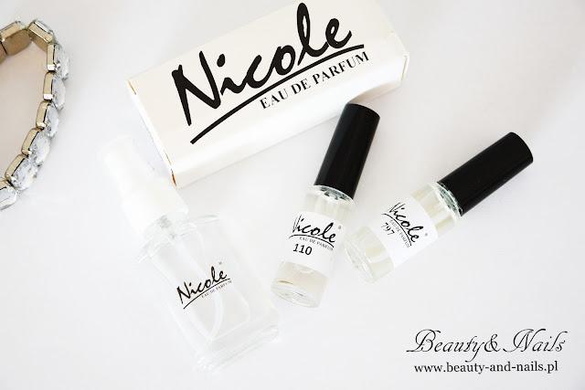 NICOLE, perfumy damskie i męskie 193,110 i 797.