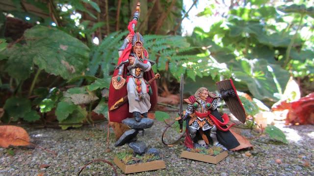 High Elf Heros in Lustria