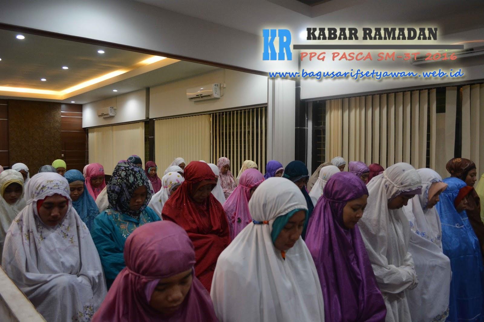 Kabar Ramadan: Buka Bersama - Sholat Taraweh bersama LP3 UM