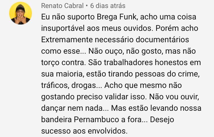 Você não pode dormir sem ver estes 19 comentários sobre o documentário 'O brega funk vai dominar o mundo'