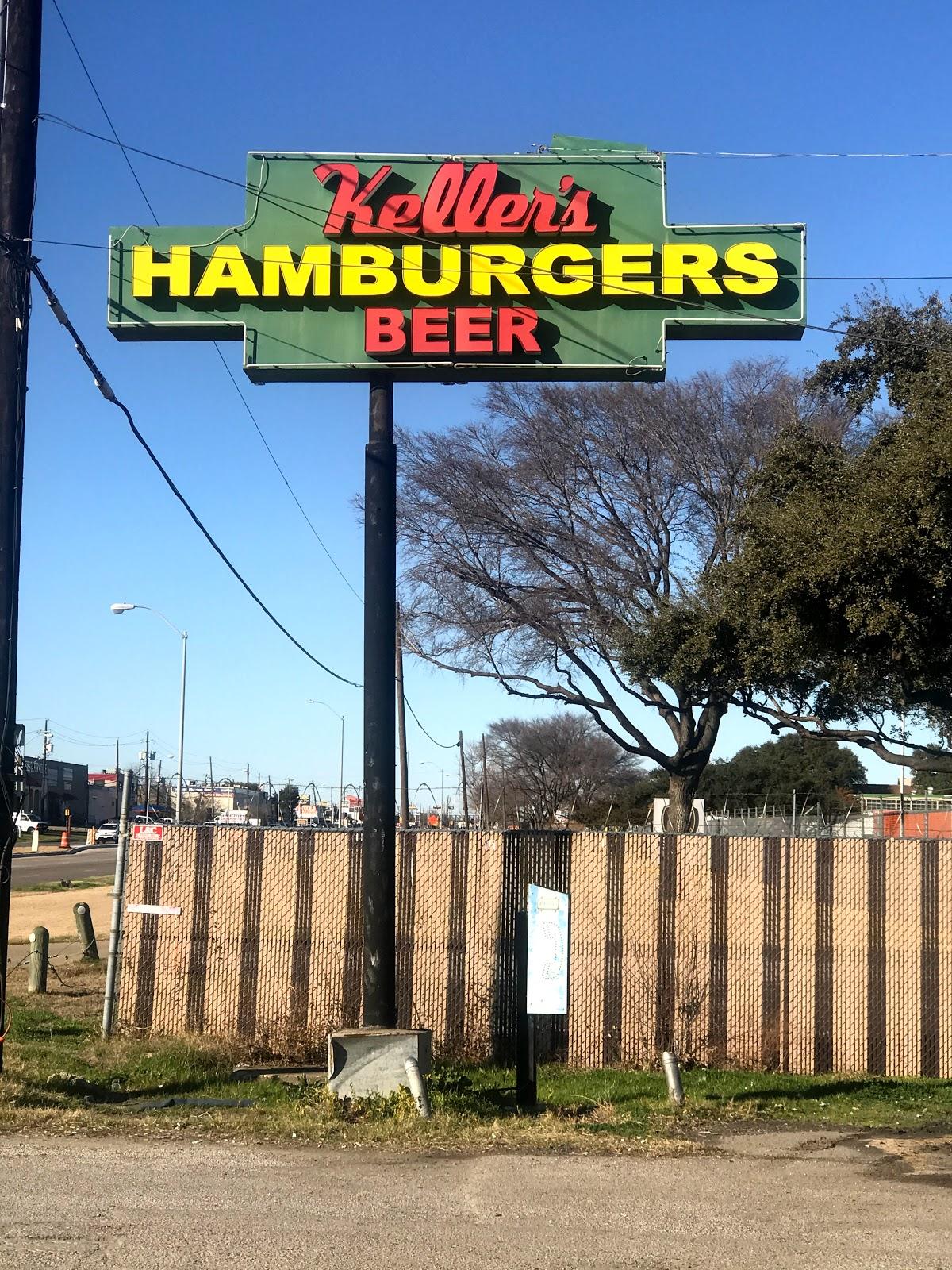 Keller's located in Dallas Texas off Harry Hines