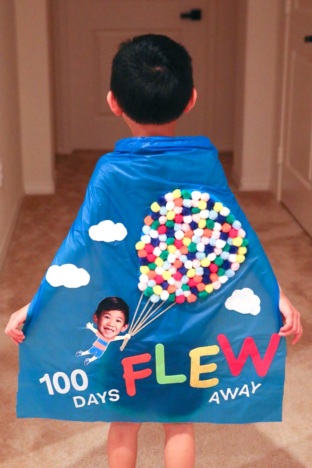 100 Days Flew Away - Cute 100 Days of School Shirt Idea