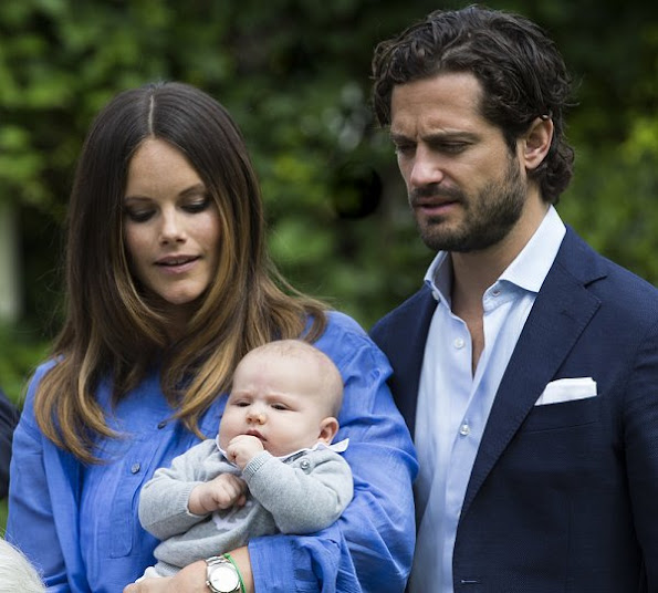 The baptism of Prince Alexander, Prince Carl Philip  and Princess Sofia, Princess Estelle, Prince Oscar, Princess Leonore and Prince Nicholas, Princess Madeleine, Crown Princess Victoria