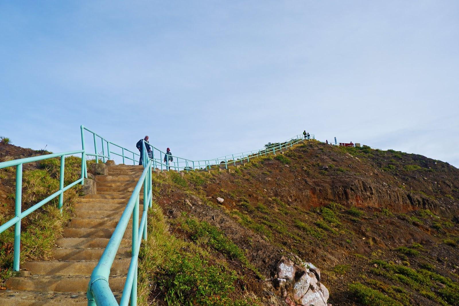 tangga menuju kelimutu
