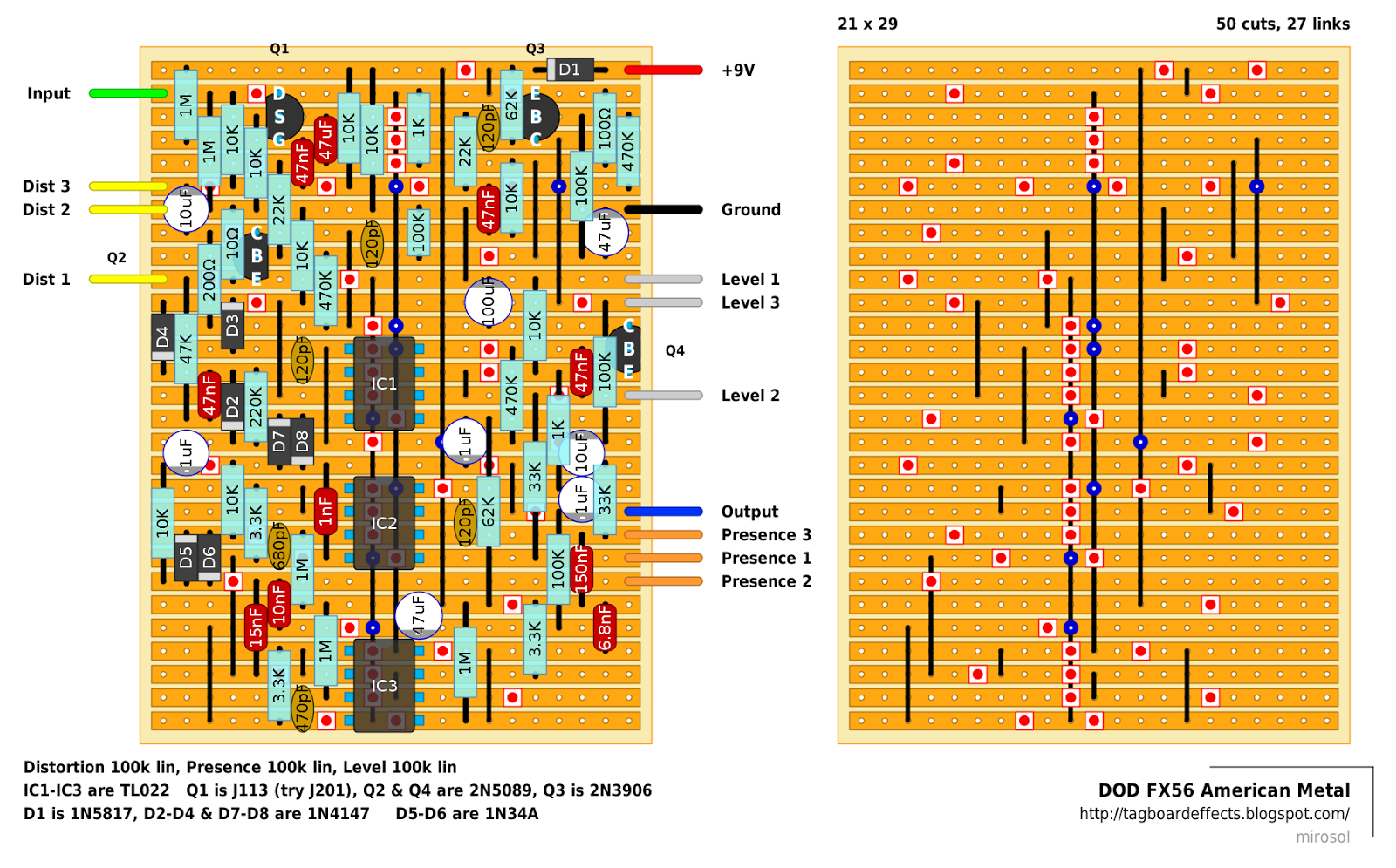 small resolution of schematic which was provided with the original units along with stickers and
