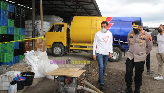 Pabrik Minyak Goreng Kemasan Ilegal di NTB Dibongkar Polisi, Pemilik Ditetapkan Tersangka